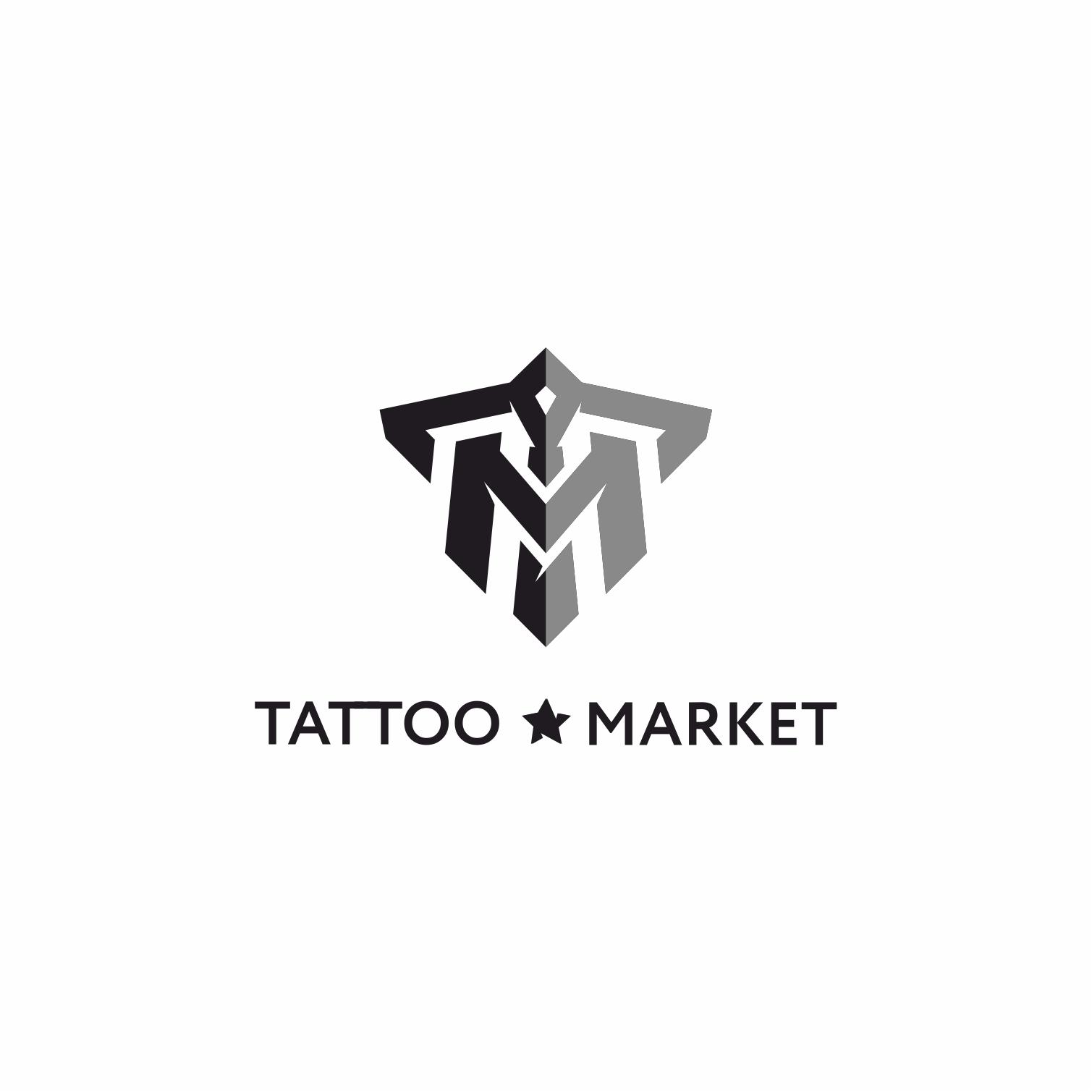 Редизайн логотипа магазина тату оборудования TattooMarket.ru фото f_0205c4403ea1ee5e.jpg