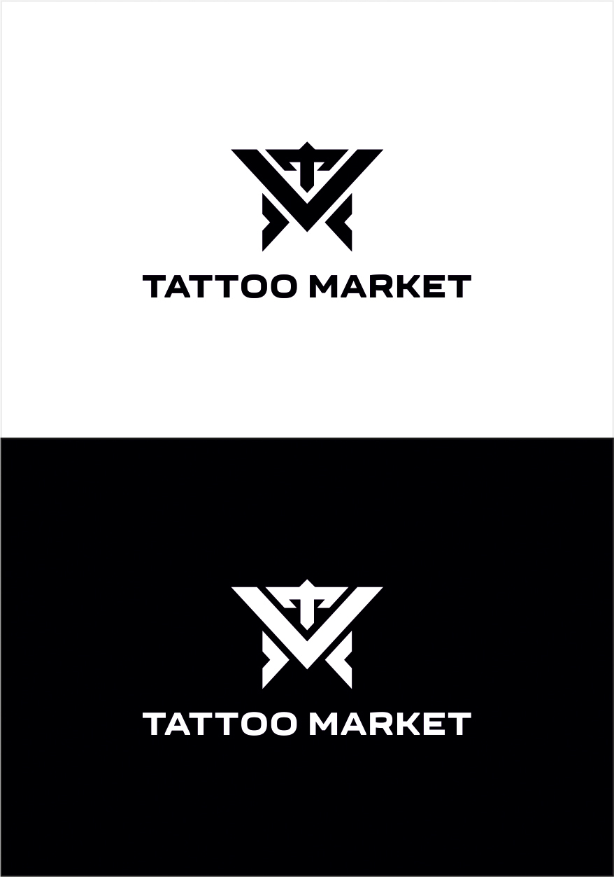 Редизайн логотипа магазина тату оборудования TattooMarket.ru фото f_3175c409152f2a47.jpg