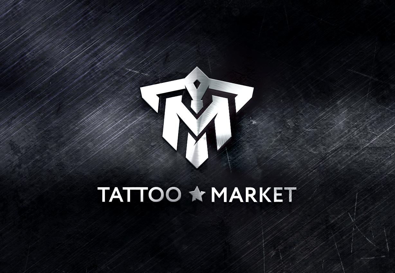 Редизайн логотипа магазина тату оборудования TattooMarket.ru фото f_3935c44935a8b849.jpg
