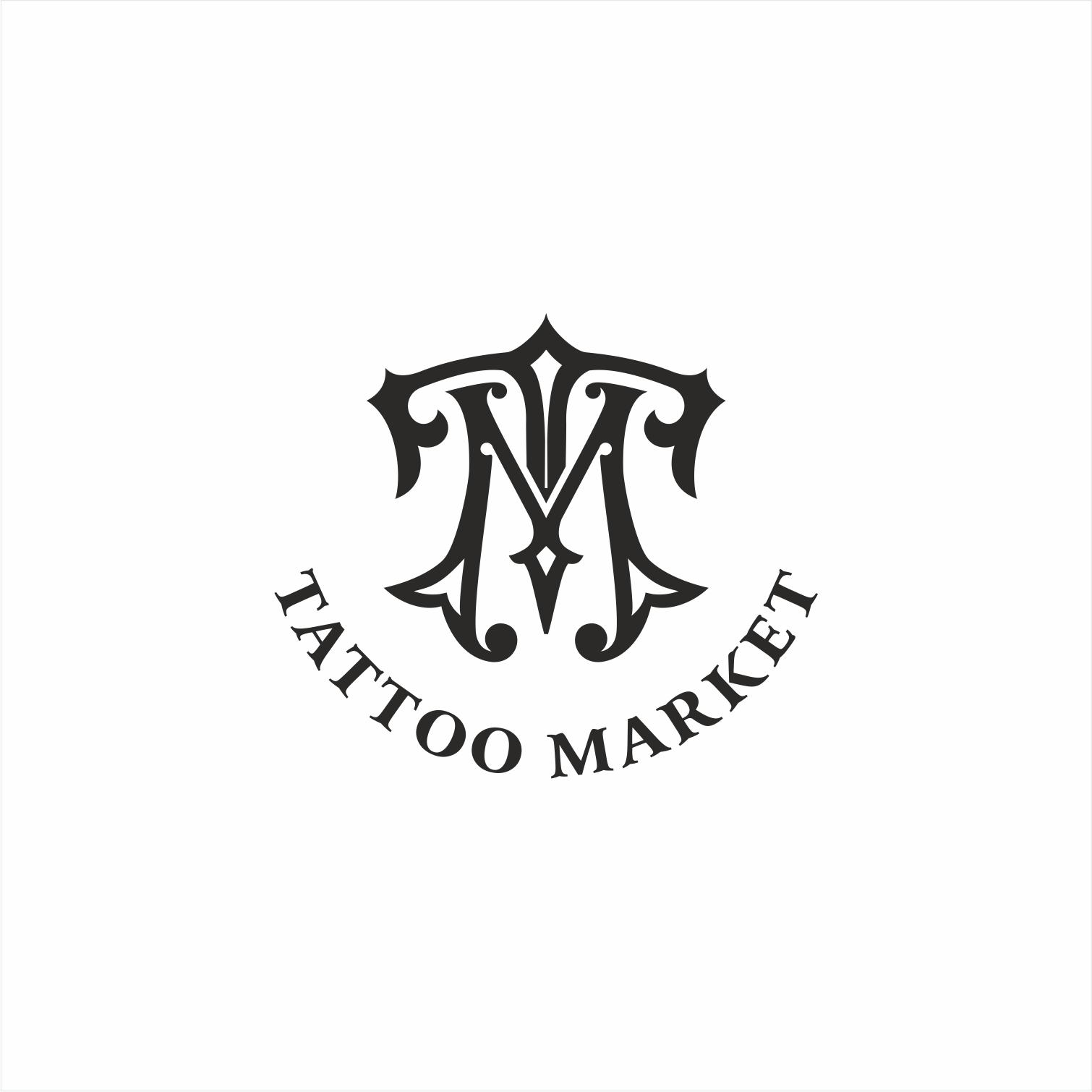 Редизайн логотипа магазина тату оборудования TattooMarket.ru фото f_4905c4403e11d82c.jpg