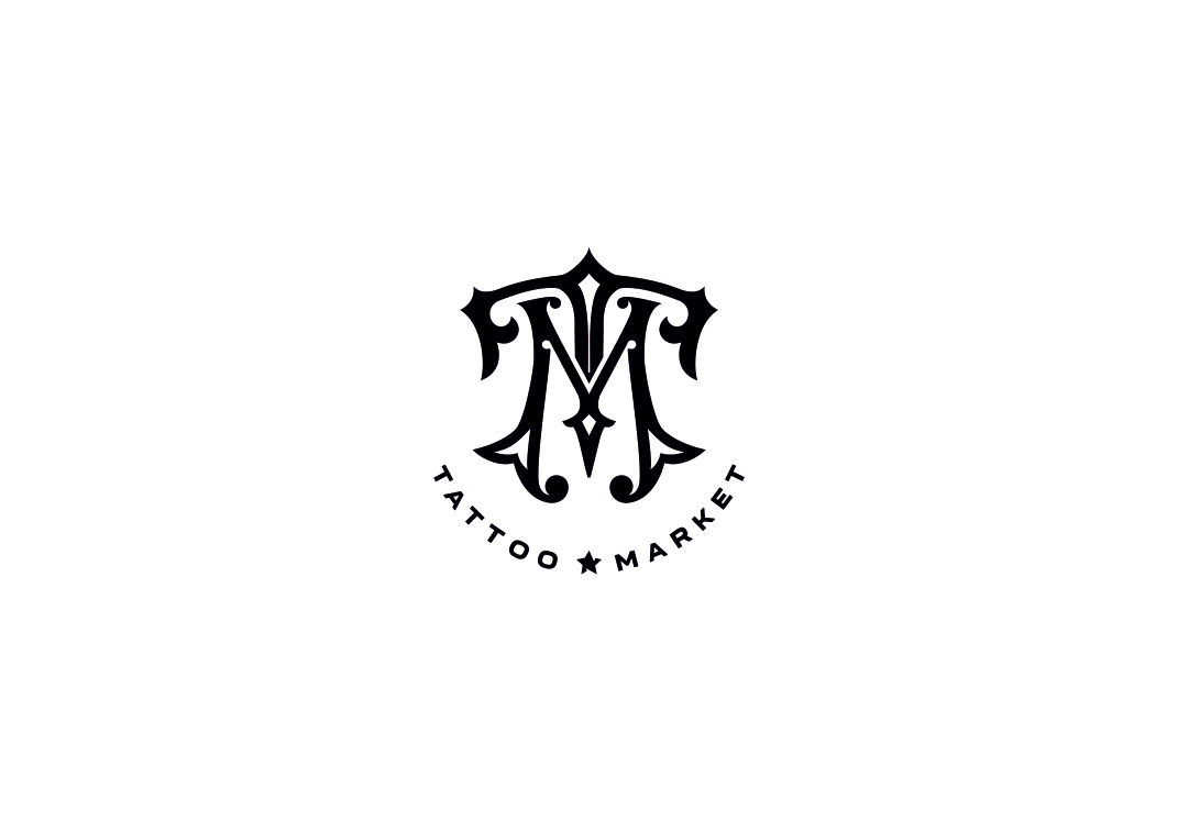 Редизайн логотипа магазина тату оборудования TattooMarket.ru фото f_5585c40b07190ce5.jpg