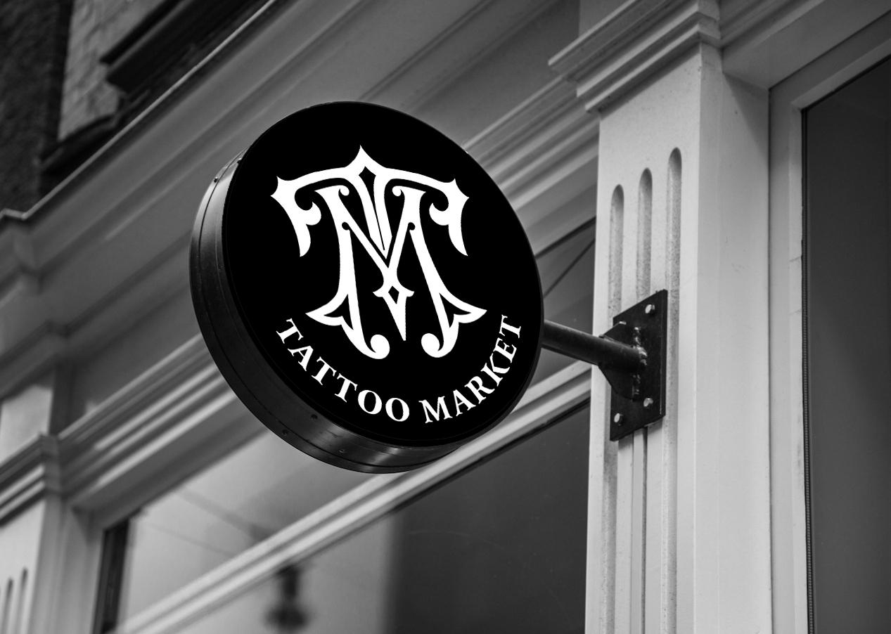 Редизайн логотипа магазина тату оборудования TattooMarket.ru фото f_8935c44934aad793.jpg