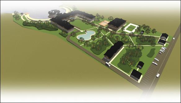 Концепция гостинчесного комплекса 3,2 га (Тверская область)