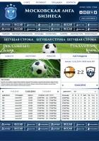 Московская Лига Бизнаса, предварительный макет.
