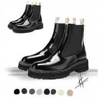 Фешн иллюстрация - ботинки