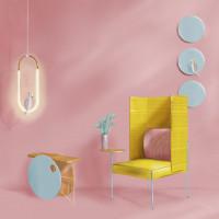 Интерьерная иллюстрация стул