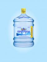 Визуализация большой бутылки для компании Новокурьинская Вода