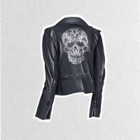 Фешн иллюстрация - куртка