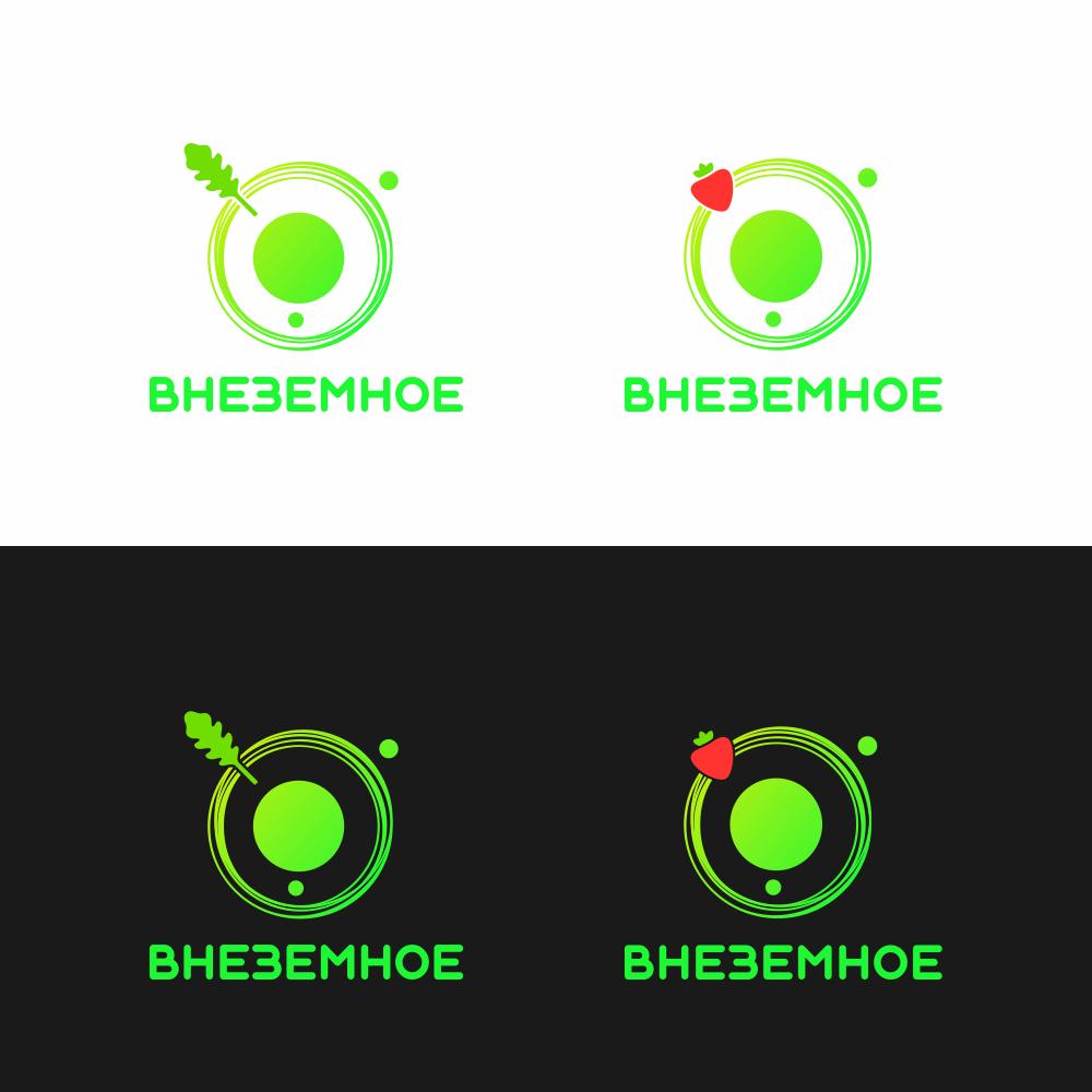 """Логотип и фирменный стиль """"Внеземное"""" фото f_2375e7b35518bc0c.png"""