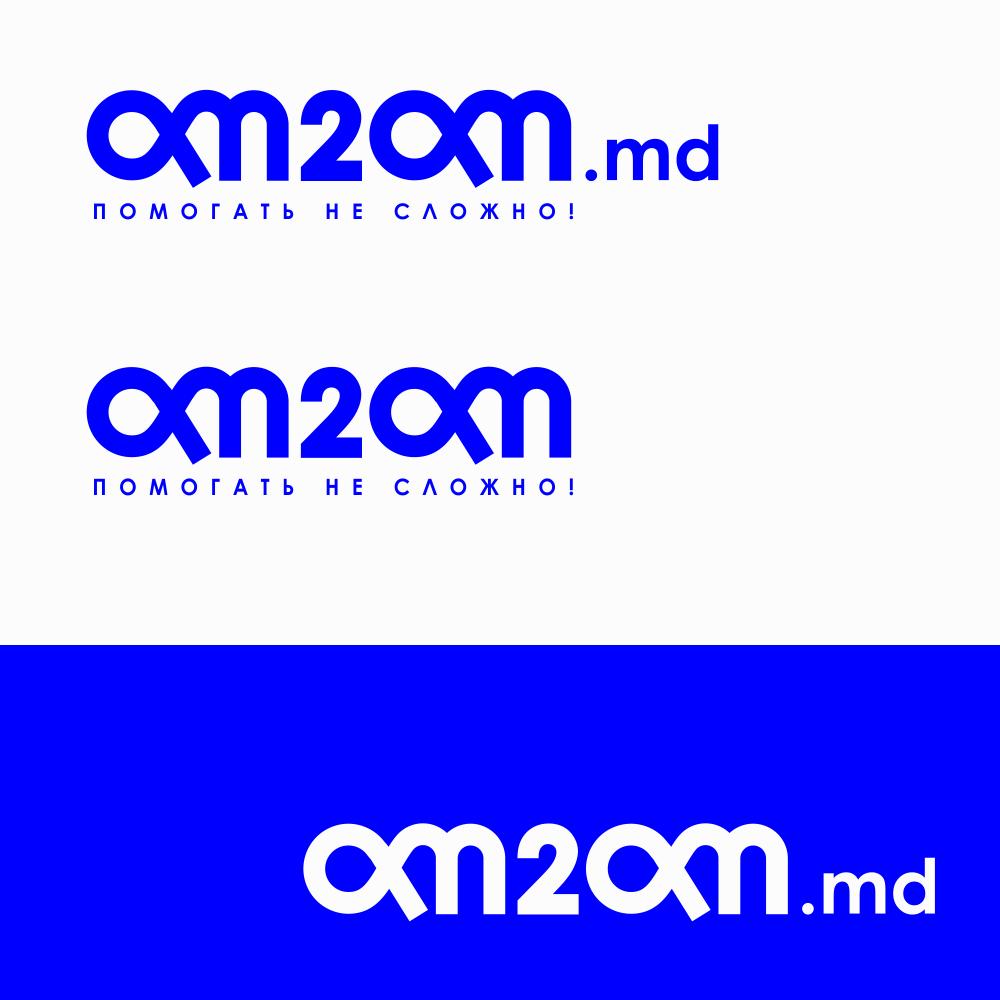 Разработка логотипа для краудфандинговой платформы om2om.md фото f_3835f5b7cc2dbf72.png