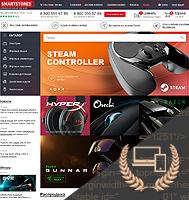 Smartstores - адаптивная верстка интернет-магазина для геймеров