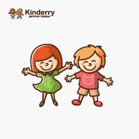 Kinderry - разработка логотипа