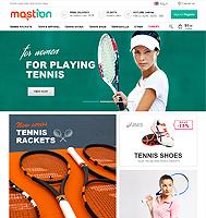 Mostion - адаптивный интернет магазин (Дизайн + верстка)
