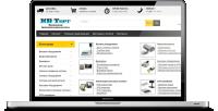 Наполнение интернет-магазина торгового оборудования новыми товарами.