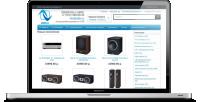 Добавление товаров в интернет-магазин аудио и видео техники.
