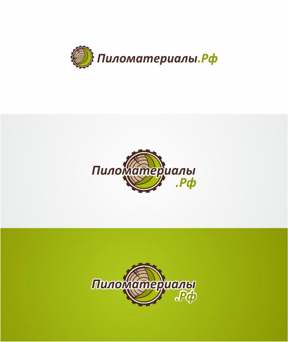 """Создание логотипа и фирменного стиля """"Пиломатериалы.РФ"""" фото f_91352f38c014454f.png"""