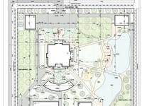 Схема планировочной организации участка, эскиз (стоимость зависит от площади...