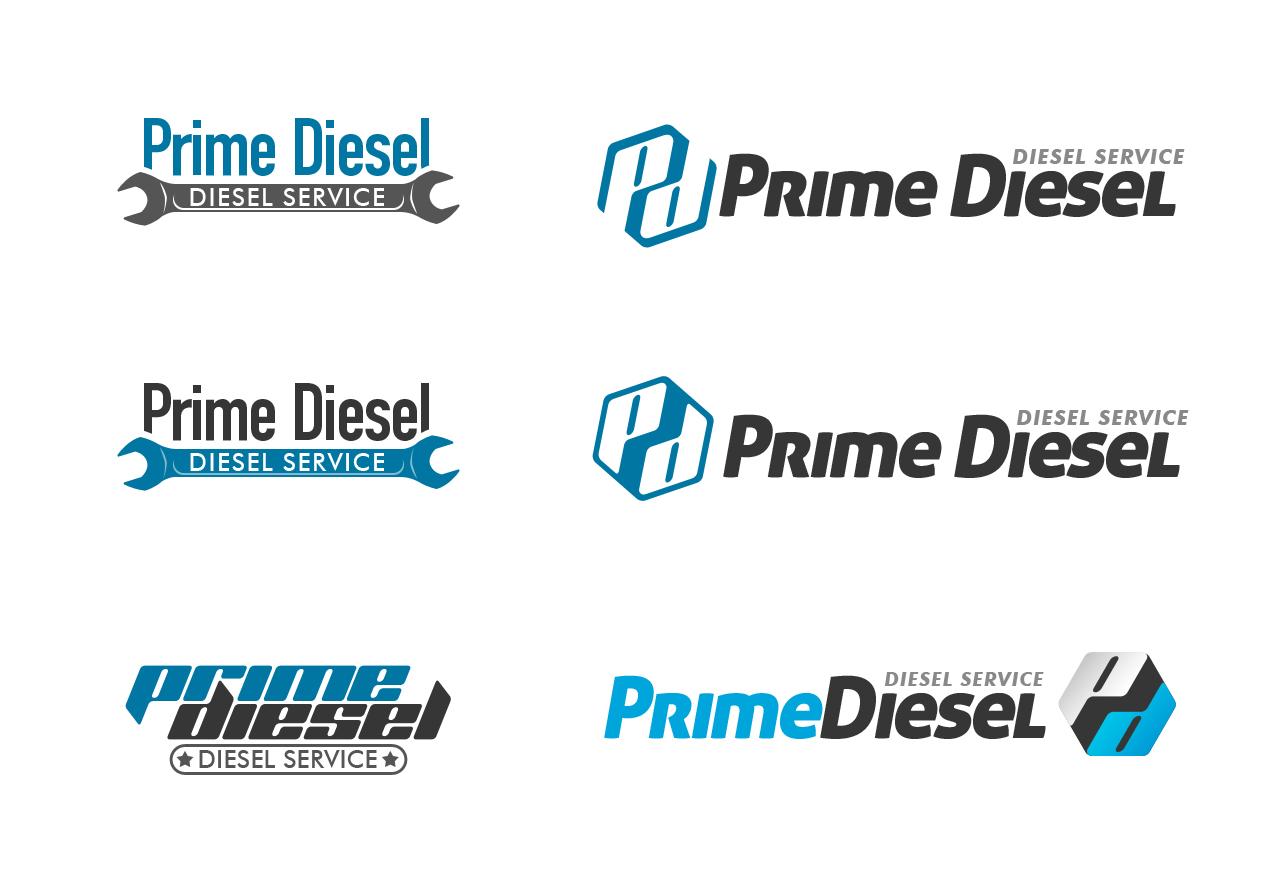 Логотип для Прайм Дизель