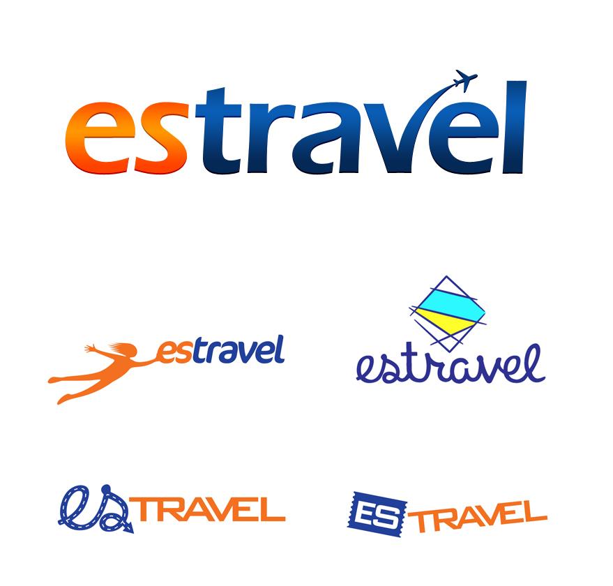 Лого для компани Estravel
