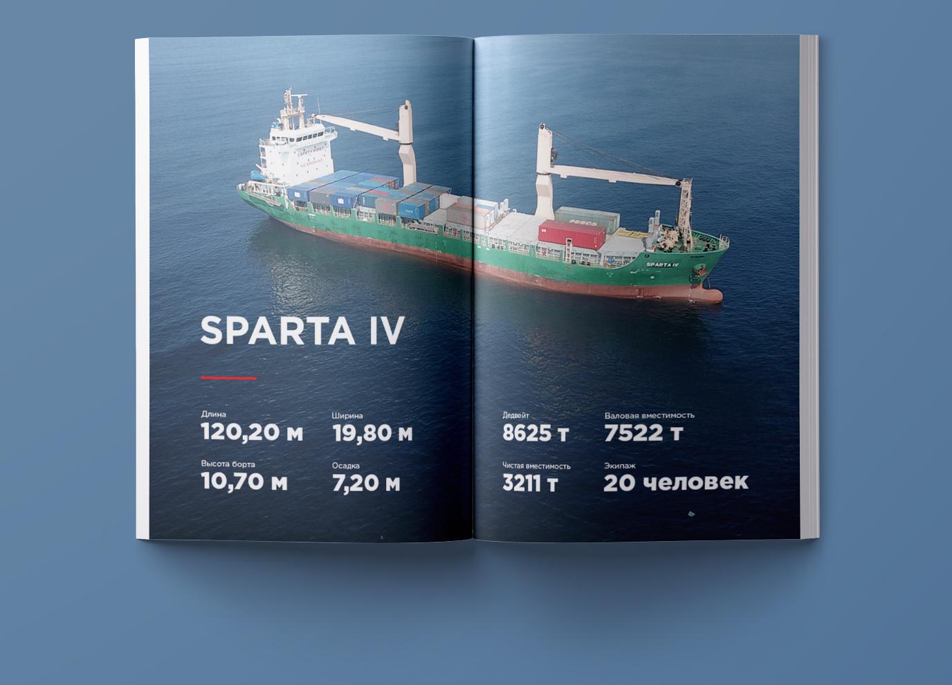 Инфографика для журнала о новом корабле компании фото f_4105b69e25d92d61.jpg