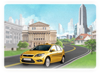 Сайт службы такси