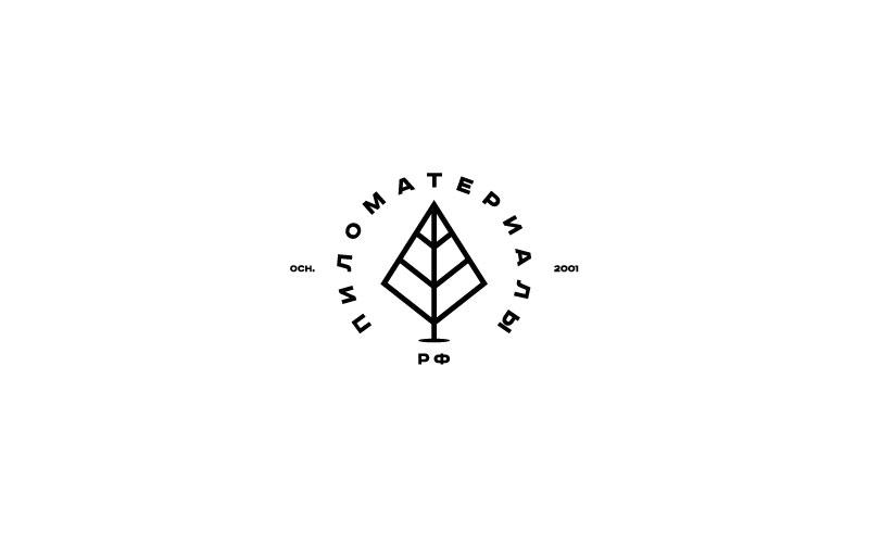 """Создание логотипа и фирменного стиля """"Пиломатериалы.РФ"""" фото f_157530799f02d76e.jpg"""