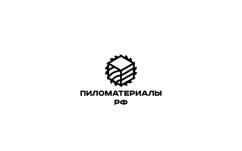 """Создание логотипа и фирменного стиля """"Пиломатериалы.РФ"""" фото f_229530934b4140d5.jpg"""