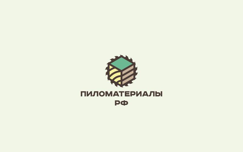 """Создание логотипа и фирменного стиля """"Пиломатериалы.РФ"""" фото f_389530934abe2021.jpg"""