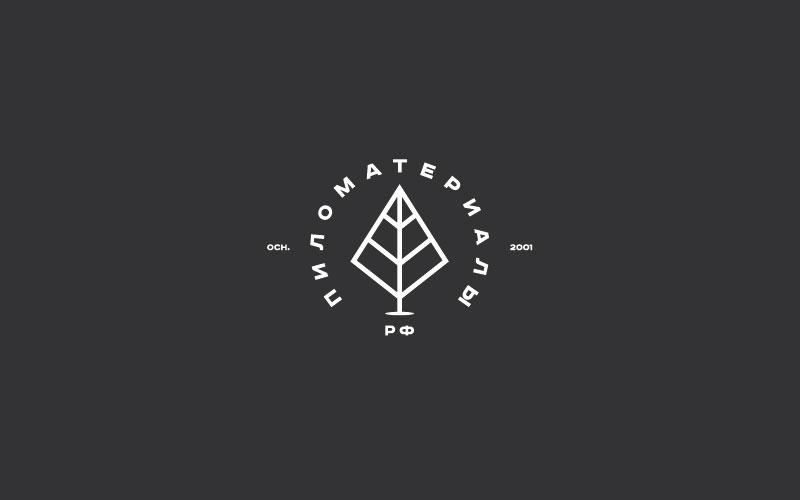 """Создание логотипа и фирменного стиля """"Пиломатериалы.РФ"""" фото f_676530799f6d151f.jpg"""