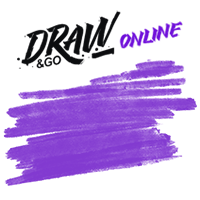 Адаптивная верстка (веб сервис) - Draw & Go