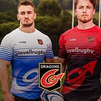 Адаптивная верстка - Dragons rugby (корп. сайт)