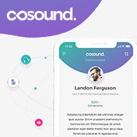 Адаптивная верстка - cosound (веб-сервис)