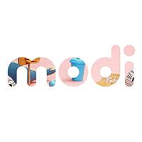 Адаптивная верстка - modi (промо-лендинг)