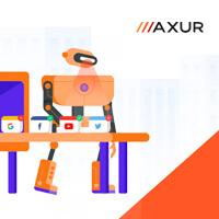 Адаптивная верстка - Axur (корп. сайт)