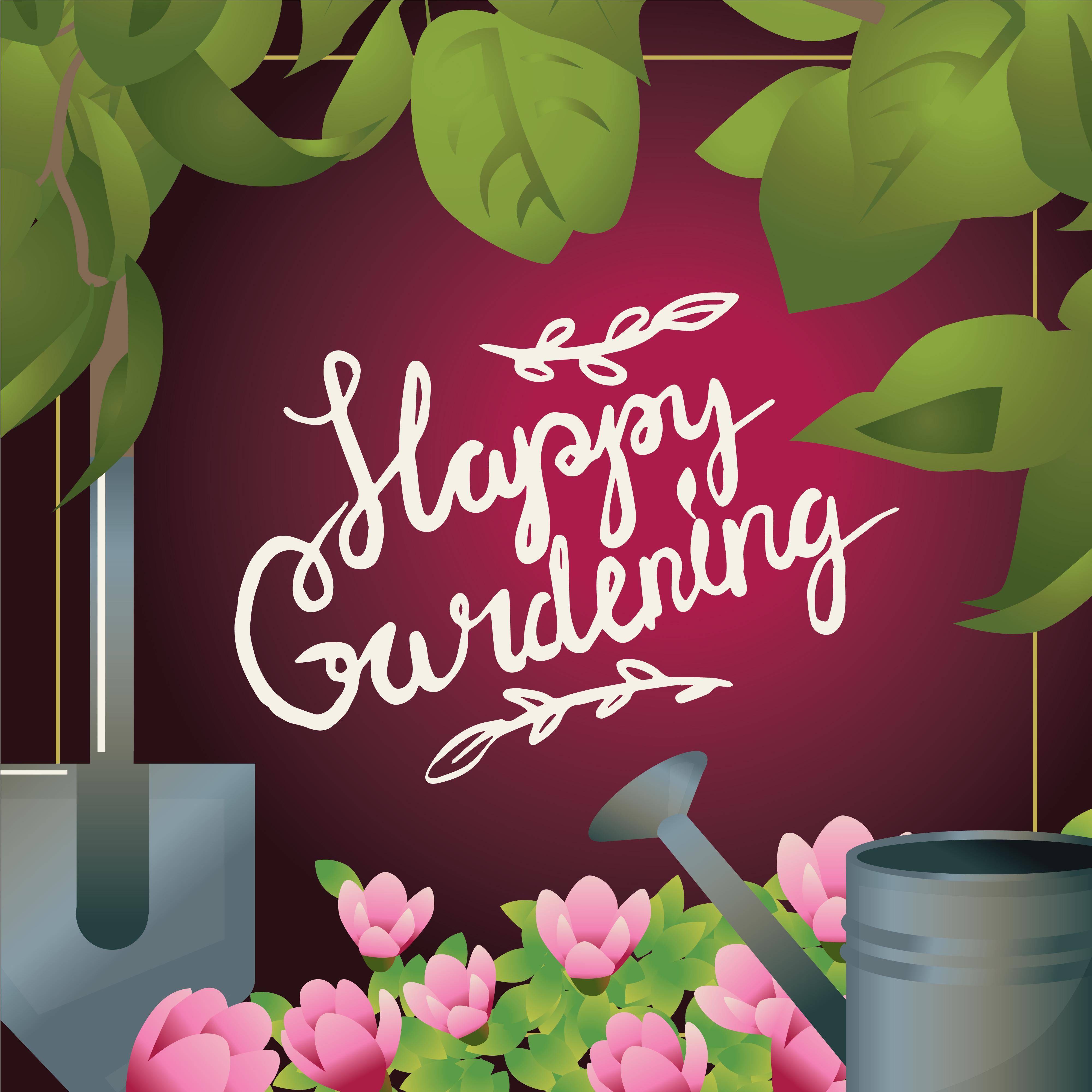 Леттеринг про садоводство