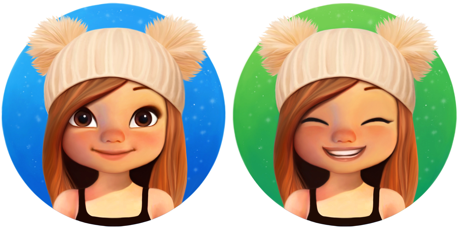 Cute Girl Icons