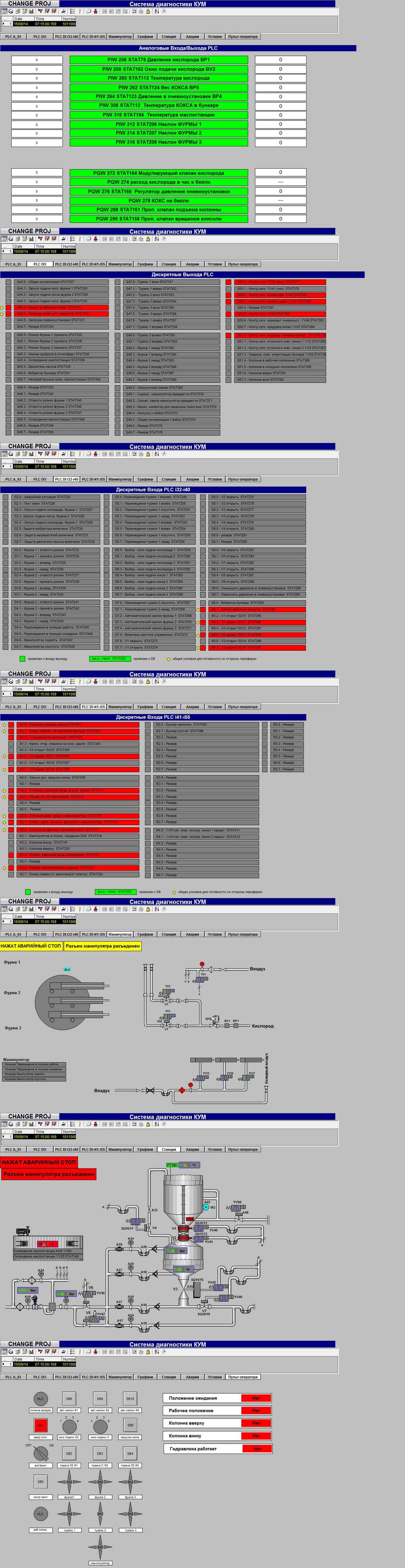 Разработка системы визуализации КУМ`а на WinCC 7.0