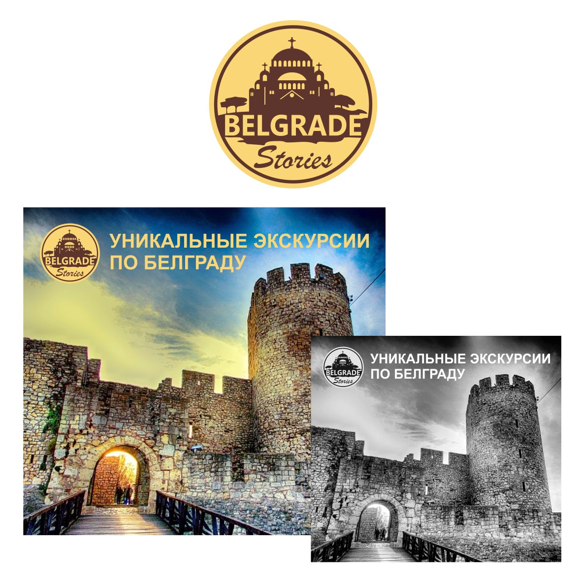 Логотип для агентства городских туров в Белграде фото f_0875890f03e491cb.jpg