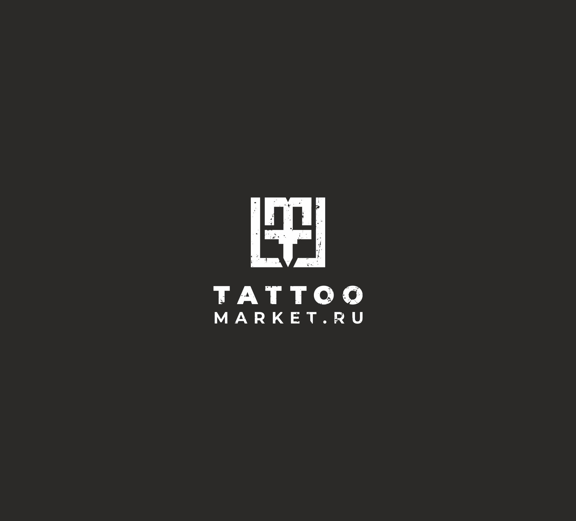 Редизайн логотипа магазина тату оборудования TattooMarket.ru фото f_1015c3c36e1e54ad.jpg