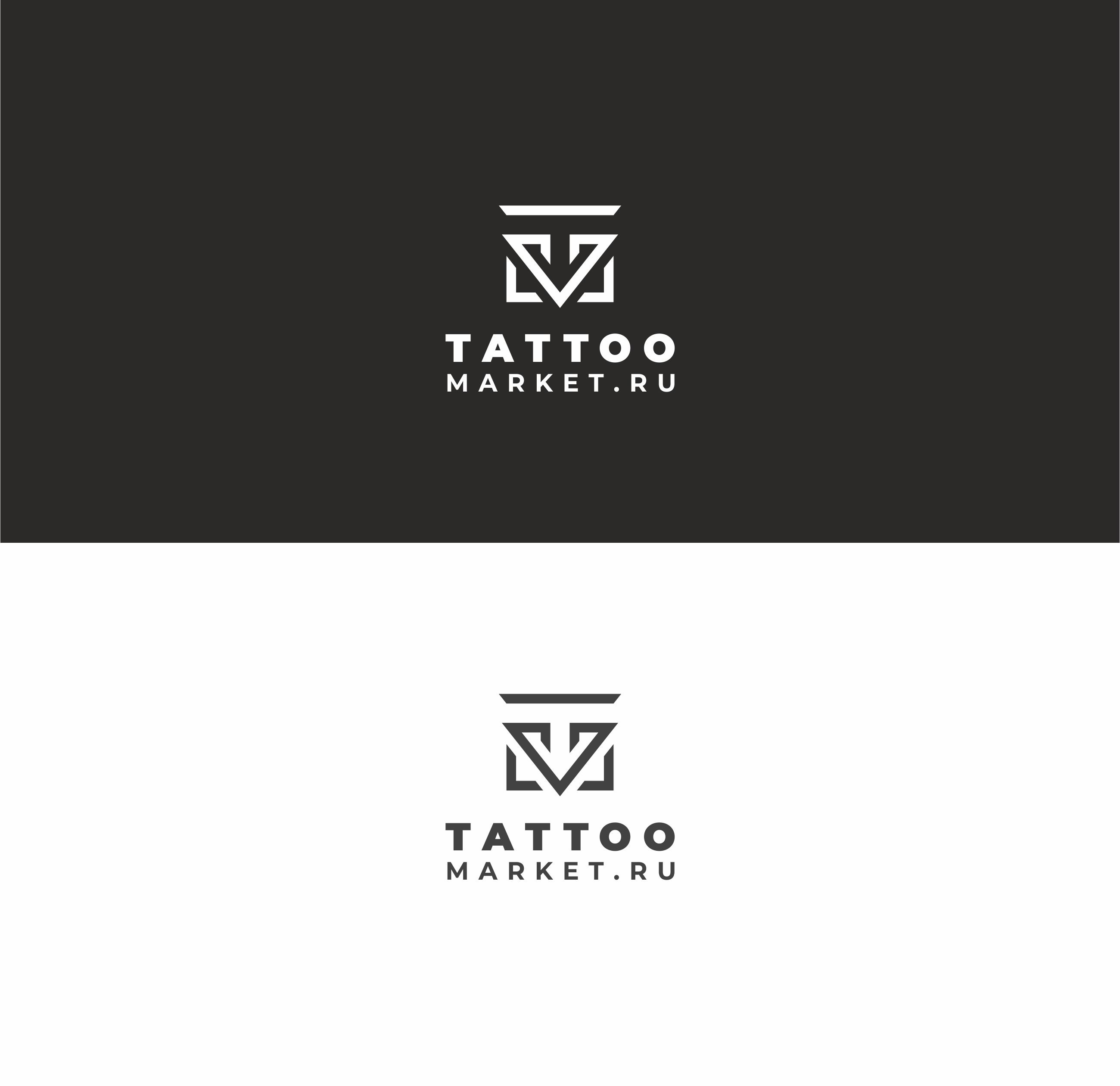 Редизайн логотипа магазина тату оборудования TattooMarket.ru фото f_1485c3d9bda110db.jpg
