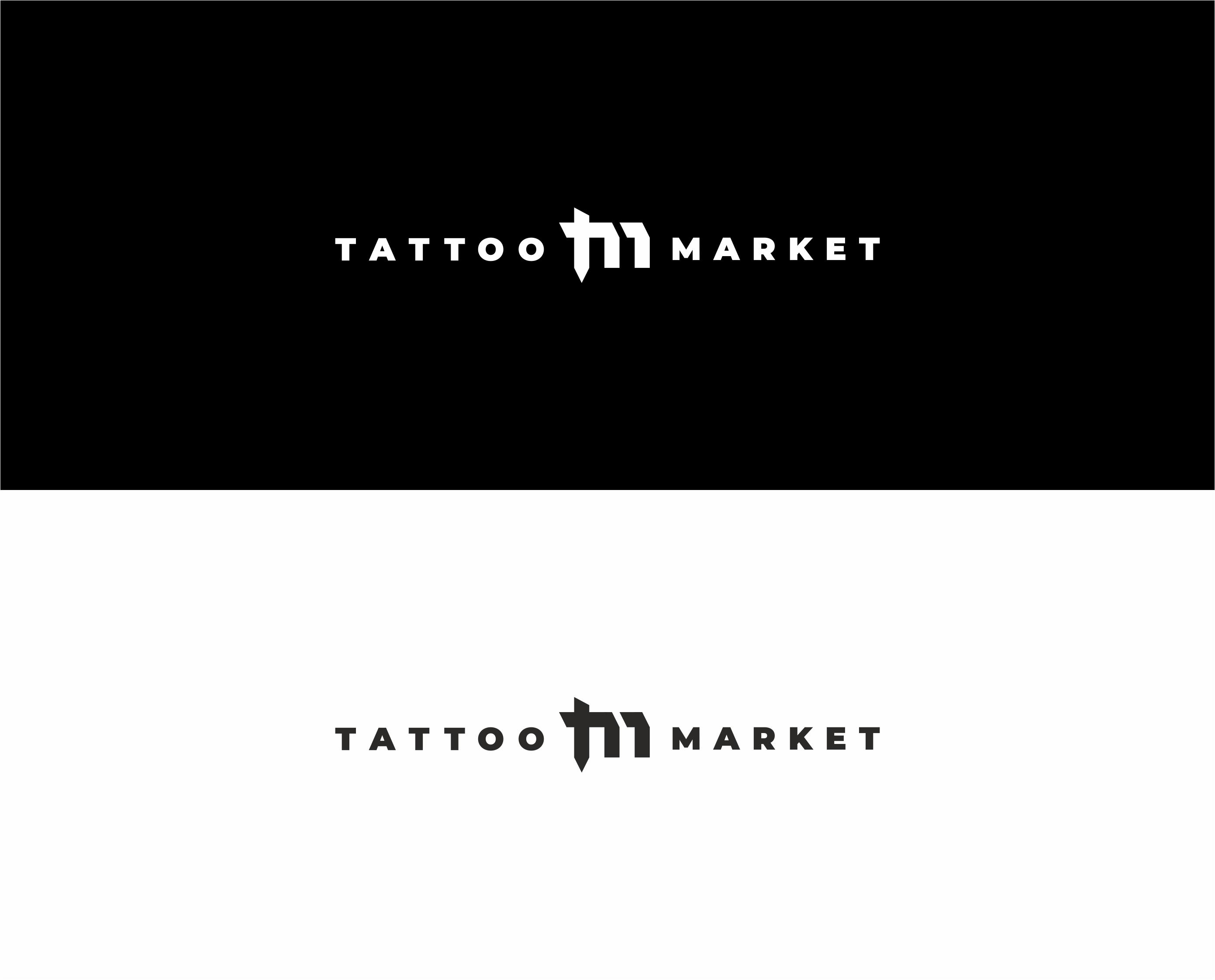 Редизайн логотипа магазина тату оборудования TattooMarket.ru фото f_1815c3edec51ca13.jpg