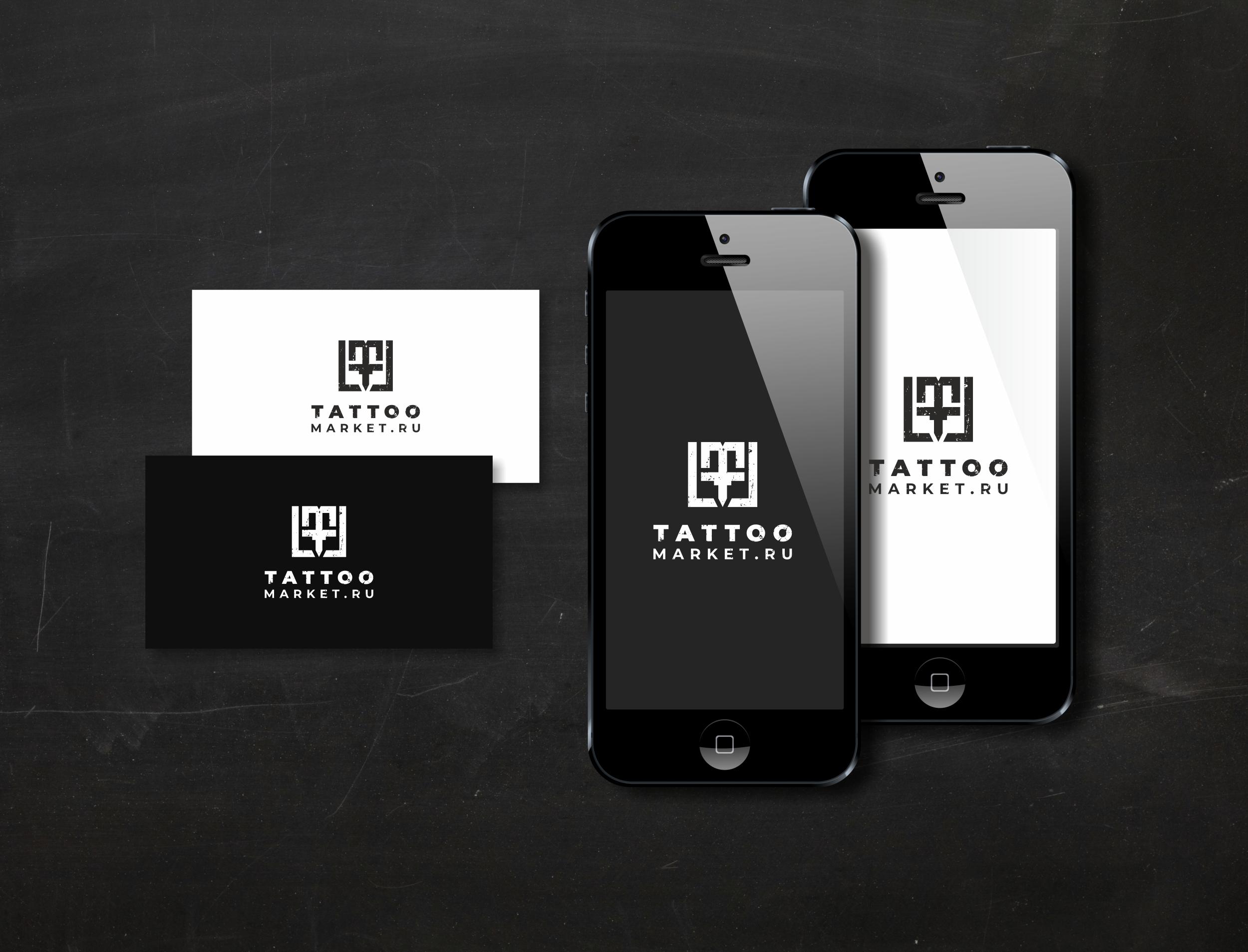 Редизайн логотипа магазина тату оборудования TattooMarket.ru фото f_2165c3cdf6f4a256.jpg