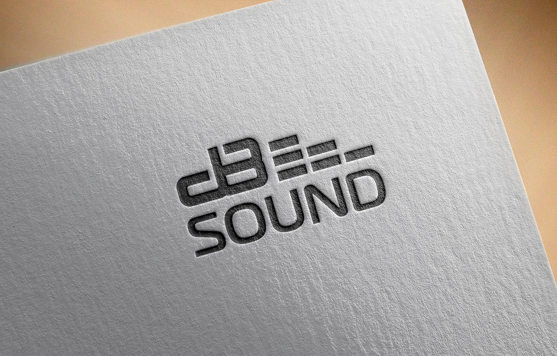 Создание логотипа для компании dB Sound фото f_22259b623794288d.jpg