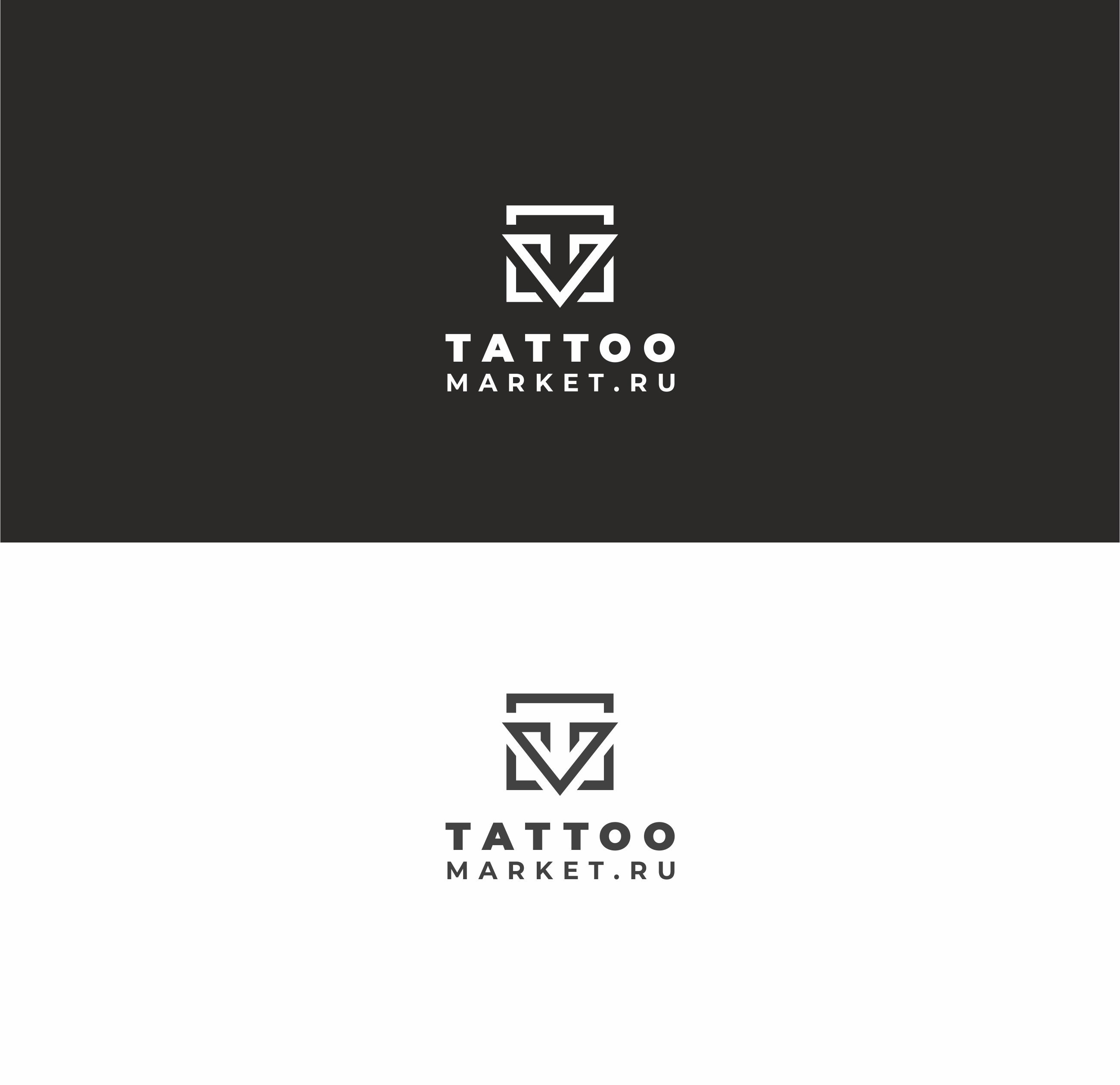 Редизайн логотипа магазина тату оборудования TattooMarket.ru фото f_3075c3d9bd39019c.jpg
