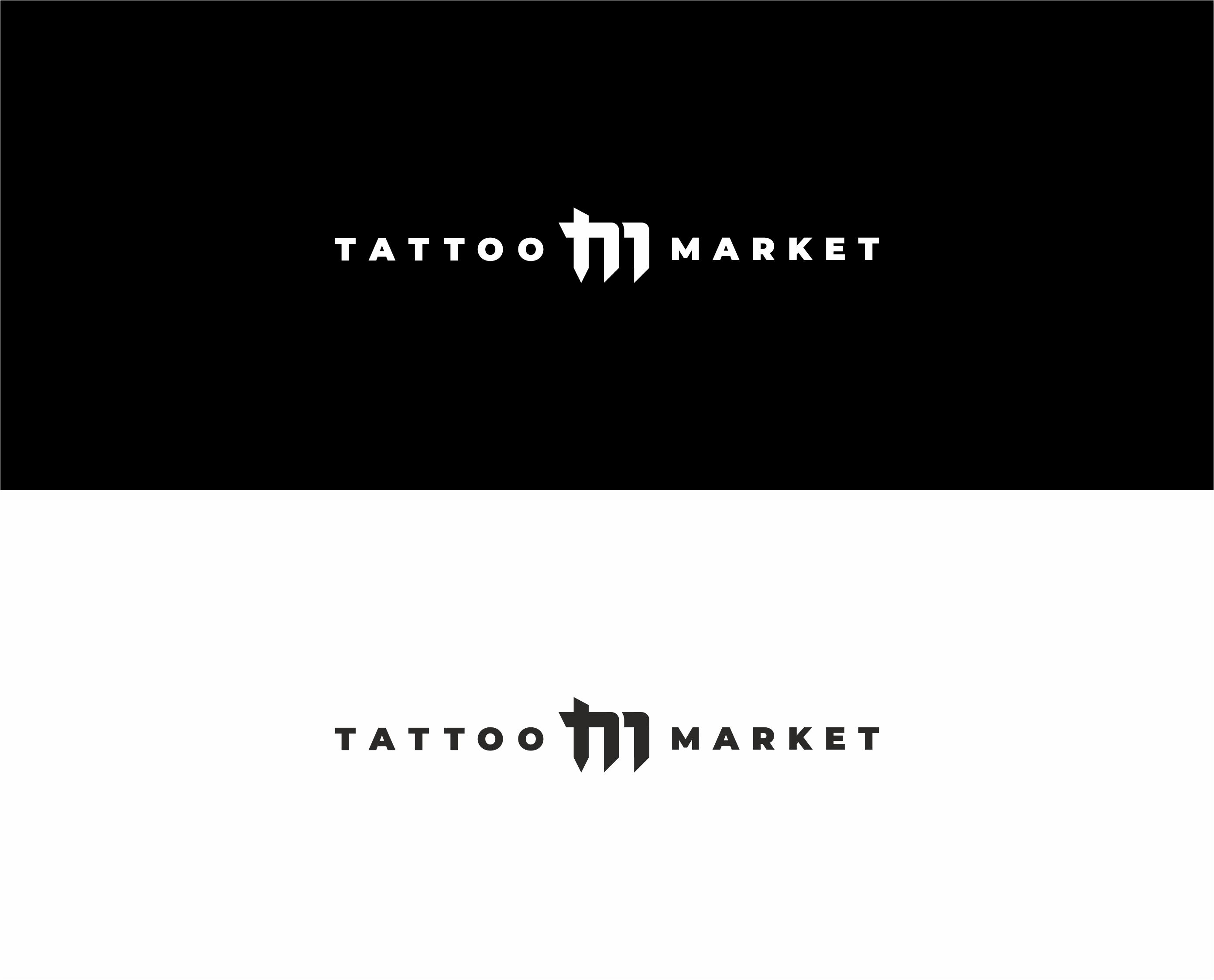 Редизайн логотипа магазина тату оборудования TattooMarket.ru фото f_4195c3edfb6bc890.jpg