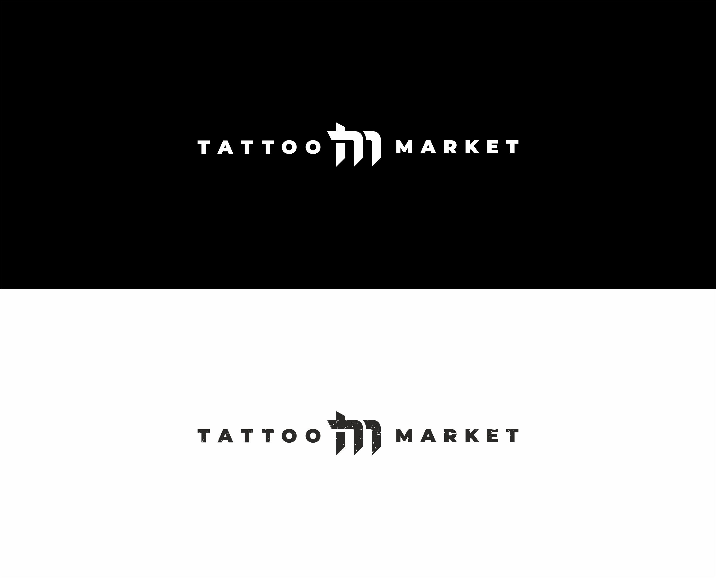 Редизайн логотипа магазина тату оборудования TattooMarket.ru фото f_4935c3ee9197d005.jpg