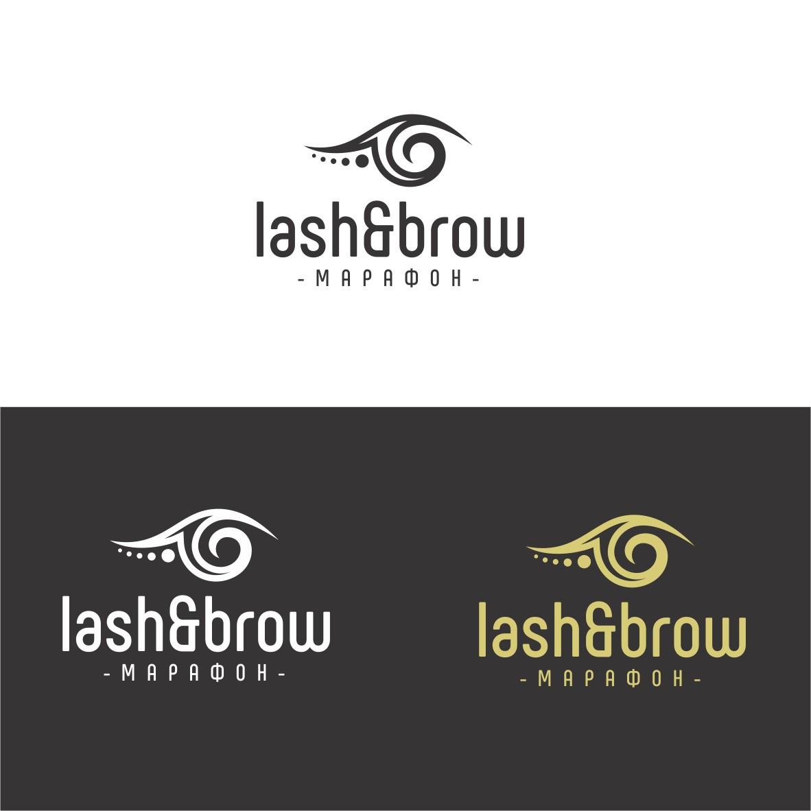 "Создание логотипа мероприятия ""Марафон Lash&Brow"" фото f_53158f70dfbacb39.jpg"