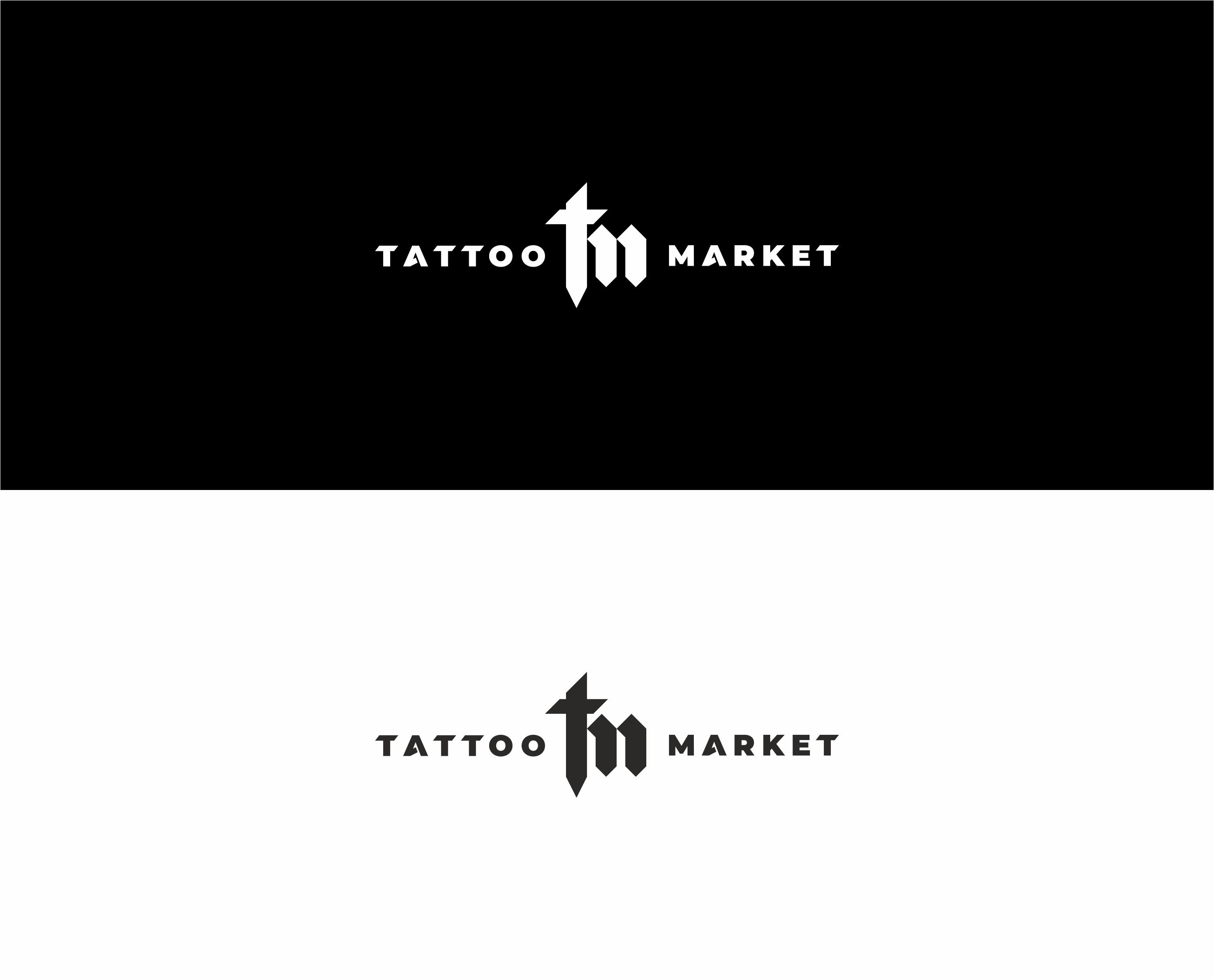 Редизайн логотипа магазина тату оборудования TattooMarket.ru фото f_5695c40422e3a3ff.jpg