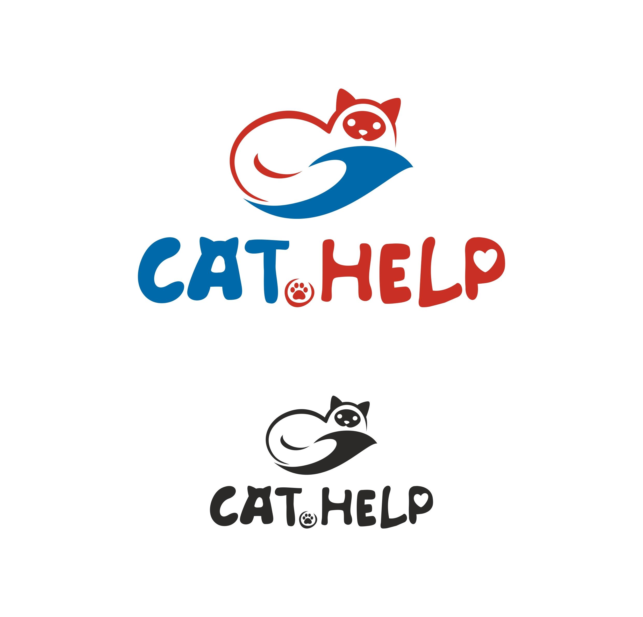 логотип для сайта и группы вк - cat.help фото f_57359d9cfdcb9735.jpg