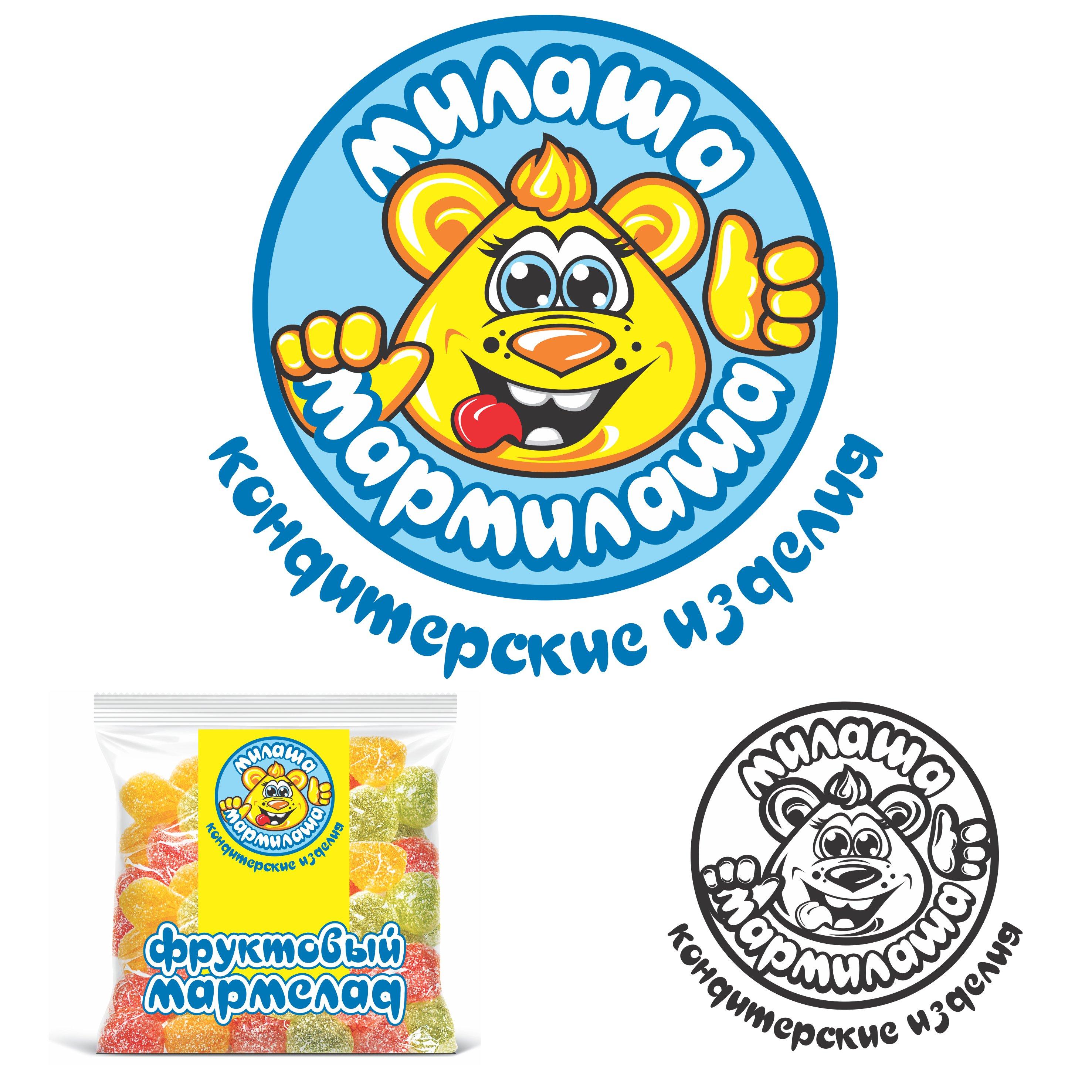 "Логотип для товарного знака ""Милаша-Мармилаша"" фото f_791587e19827ca74.jpg"